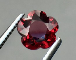 1.71 Cts Cherry Red Garnet Awesome Color ~ Africa As8