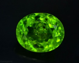 6.00 Ct Untreated Green Peridot