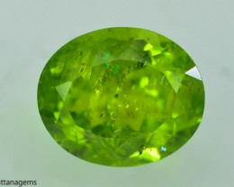 6.70 Ct Untreated Green Peridot