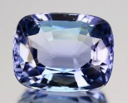 ~LOVELY~ 1.70 Cts Natural Purplish Blue Tanzanite Oval Cut Tanzania