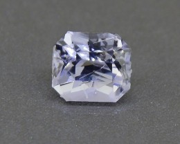 Unheated Light Blue Sapphire 1.10 Ct. from Sri Lanka (01260)