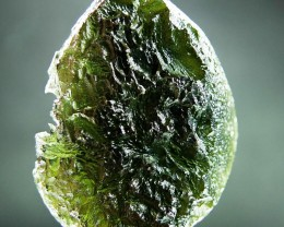 Glossy Big Authentic Moldavite quality A+ CERTIFIED