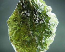 Glossy Rough Moldavite quality A+ with CERTIFICATE