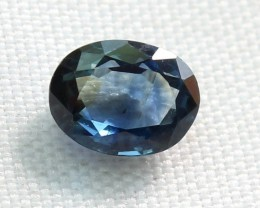 0.95 Crt Natural Blue Sapphire Loose Gemstone 0008