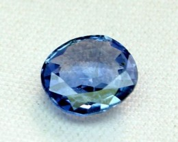 1.42 Crt Certified Natural Blue Sapphire Loose Gemstone 0015