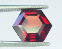 2.40 ct Natural Laser Cut Red Rhodolite Garnet