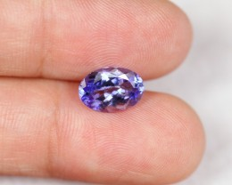 "[CERTIFIED] 1.86cts Violet Blue ""D Block"" Tanzanite  (GIL Report)"