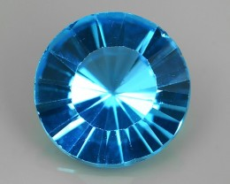 6.15 CTS DAZZLING NATURAL RARE 12.00 MM ROUND QUALITY LUSTER SWISS TOPAZ