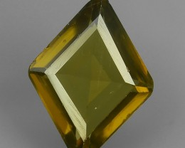 2.85 CTS DAZZLING NATURAL RARE TOP LUSTER INTENSE YELLOW ZIRCON