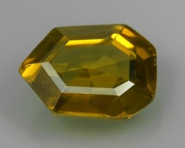 5.00 CtS AWESOME SPARKLE NATURAL  FANCY CUT BEST YELLOW ZIRCON