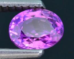 AAA Grade 1.02 ct Pink Sapphire SKU.12