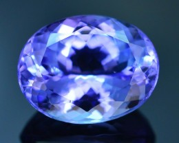 Gil Certified 4.0 ct Tanzanite Eye Catching Color SKU-9