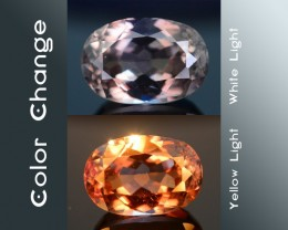 AAA Grade 4.40 ct Turkish Color Change Diaspore SKU.7