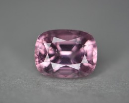 2.75 cts certified orangish pink spinel.