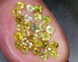 1.45CTS   YELLOW SAPPHIRES PARCEL PG-2521