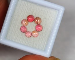 1.80ct Pink Tourmaline Cabochon Lot V2414
