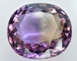 15.10 Crt Ametrine Top Quality Faceted Gemstone (R35)