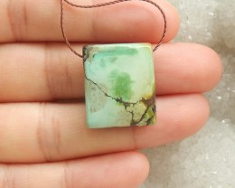 21ct Natural turquoise pendant bead customized jewelry  (18091454)