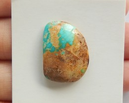 15ct Natural turquoise  cabochon bead customized jewelry  (18091444)