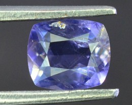 0.80 Ct Natural Dark Blue Iolite