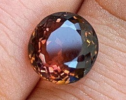 5.08 cts Blood Orange Tourmaline - Rare Color - Paprok Mine #3
