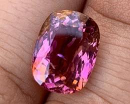 8.22 cts Pink Rubellite Tourmaline - Unique Color - Paprok #4
