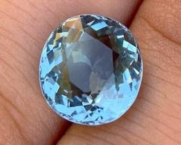 7.18 cts Sky Blue Tourmaline - AAA Color - Paprok Mine #5