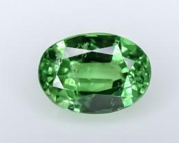 1.33 Crt GIL Certified Tsavorite Faceted Gemstone