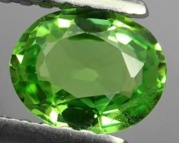 EXCELLENT NATURAL EARTH MINED RARE HUGE TOP GREEN TSAVORITE GARNET