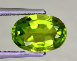 2.75 Carats Yellowish Green Peridot From Pakistan