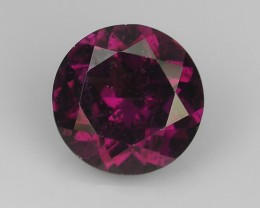 1.70 CTS EXTREMELY FINE FIRE NATURAL PURPLE PINK RHODOLITE