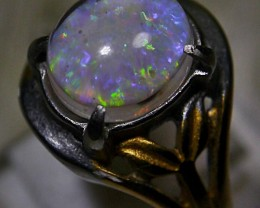 Indonesian Milky Opal Triplet Ring 24.95 CT