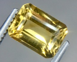 1.40 Crt Natural Golden Topaz Beautifulest Faceted Gemstone.( AG 65)