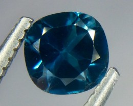 0.60 Crt Natural London Blue Topaz Faceted Gemstone.( AG 65)