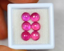 10.07ct Pink Ruby Cabochon Lot GW2478