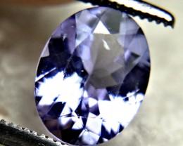 1.61 Carat VS Purple / Blue African Tanzanite - Gorgeous