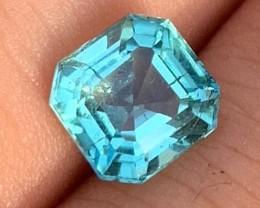 1.68 cts Lagoon Blue Tourmaline - Paraiba Color - Mozambique $675