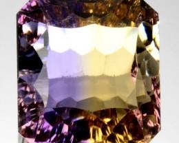 ~MILLENNIUM~ 8.59 Cts Natural Bi-Color Ametrine Octagon Bolivia