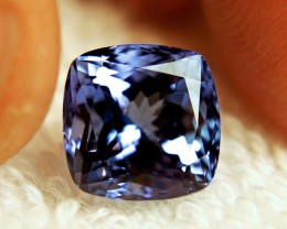 1.38 ct Exceptional Top Color IF Natural Tanzanite
