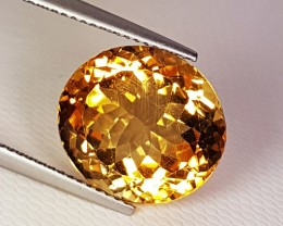 "10.93 cts ""Collective Gem"" Marvelous Oval Cut Natural Citrine"