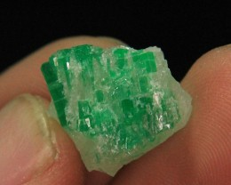 Natural Swat Emerald Cluster Specimen From Pakistan