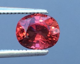 1.92 Cts Pyrope Almandite Garnet Awesome Color ~ Africa As10