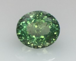 4 Cts Green  Apatite ~ Awesome Color ~ Untreated ~ As9