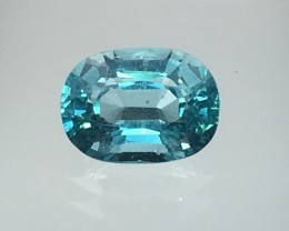 2.09 Cts Neon Blue Apatite ~ Awesome Color  ~ Untreated AS9