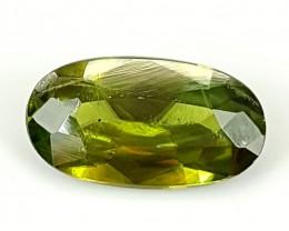 0.85Crt Chrome Sphene  Best Grade Gemstones JI103
