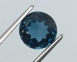 3.06 Carat VS Topaz London Blue - Gorgeous Brazilian Beauty !