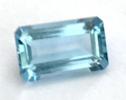 Lovely Piece of Quality Medium Dark Blue Aquamarine