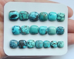 51ct Natural turquoise  cabochon bead customized jewelry  (18091510)