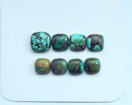 27ct Natural turquoise  cabochon bead customized jewelry  (18091514)