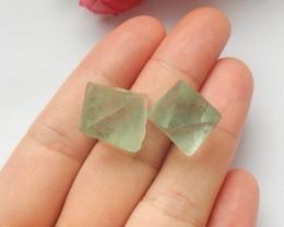 45ct Natural fluorite  cabochon beads customized jewelry  (18091531)